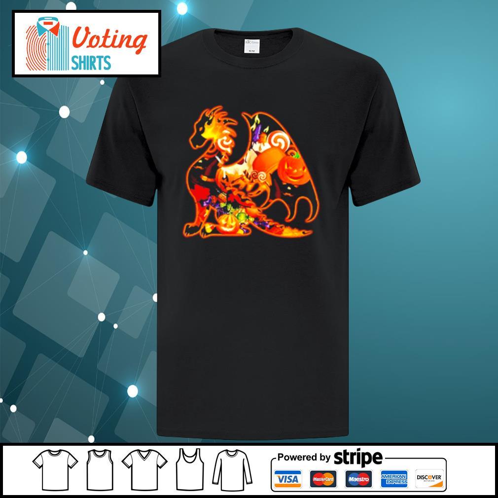 Dragon pumpkin Halloween shirt