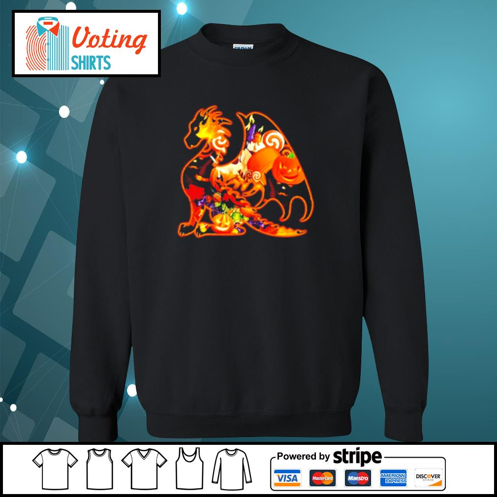Dragon pumpkin Halloween s sweater
