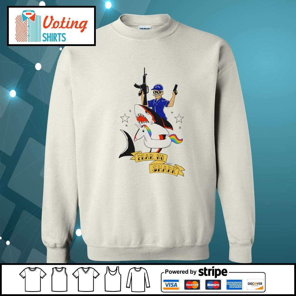 Fear no shark unicorn s sweater