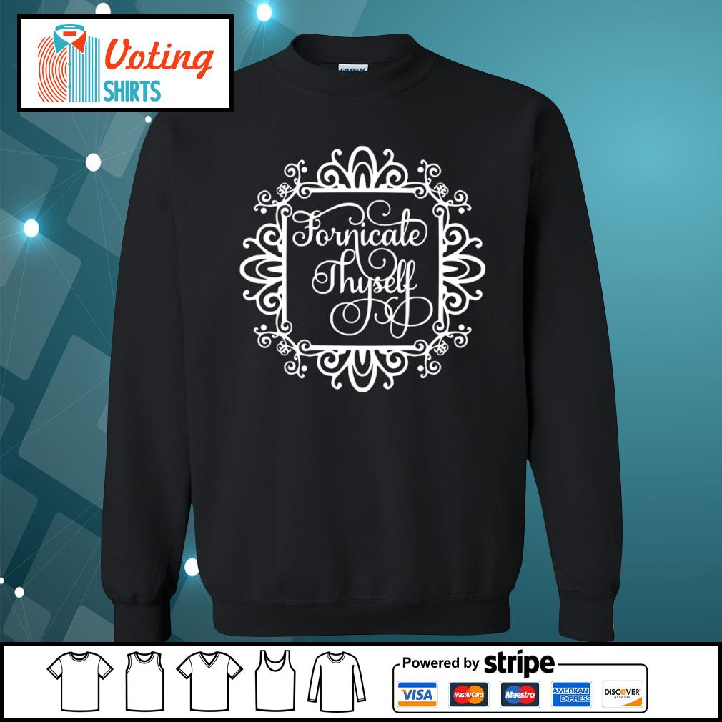Fornicale Thyself s sweater