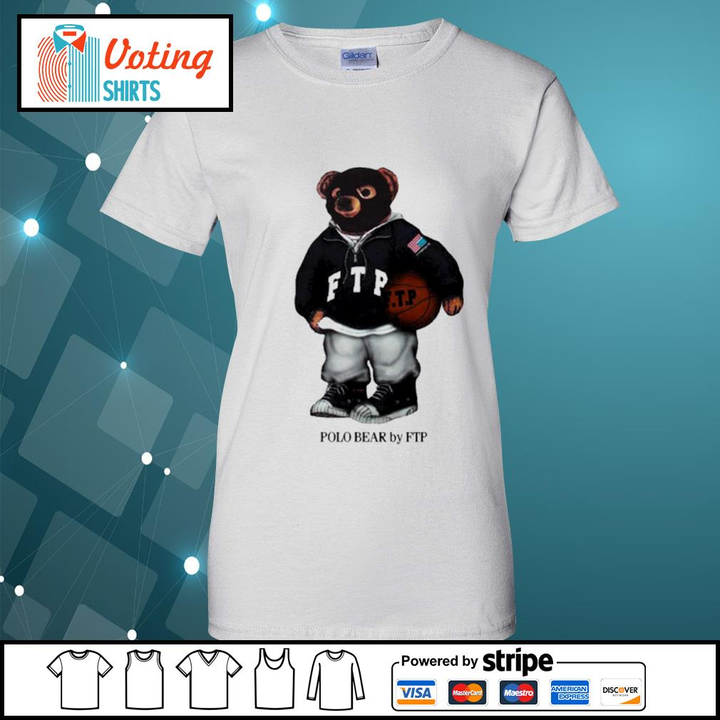 FTP polo bear s ladies-tee