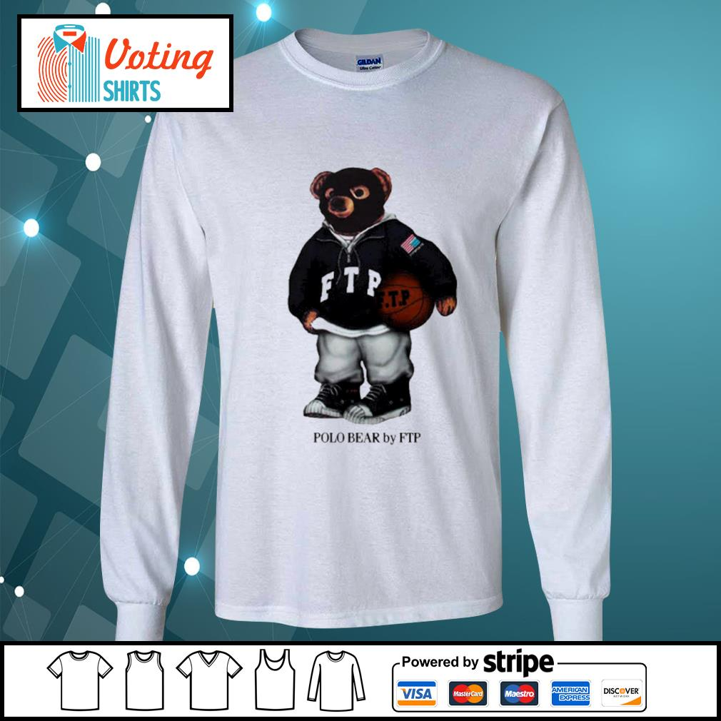 FTP polo bear s longsleeve-tee