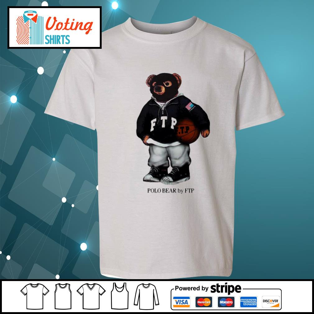 FTP polo bear s youth-tee