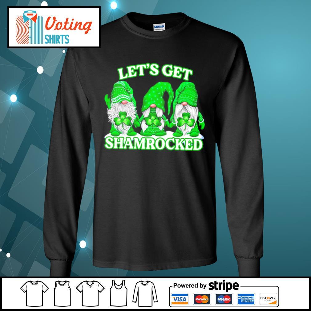 Gnomes let_s get shamrocked s longsleeve-tee