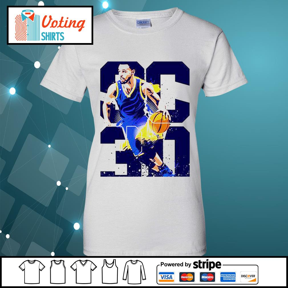 Golden State Warriors Stephen Curry 30 s ladies-tee