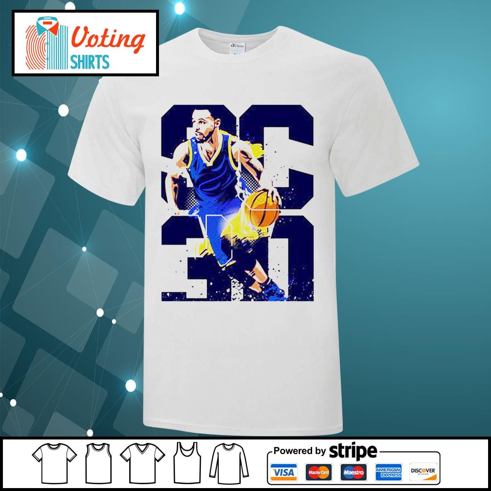 Golden State Warriors Stephen Curry 30 shirt