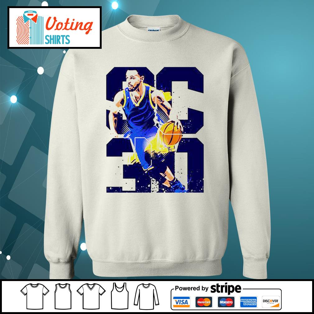 Golden State Warriors Stephen Curry 30 s sweater