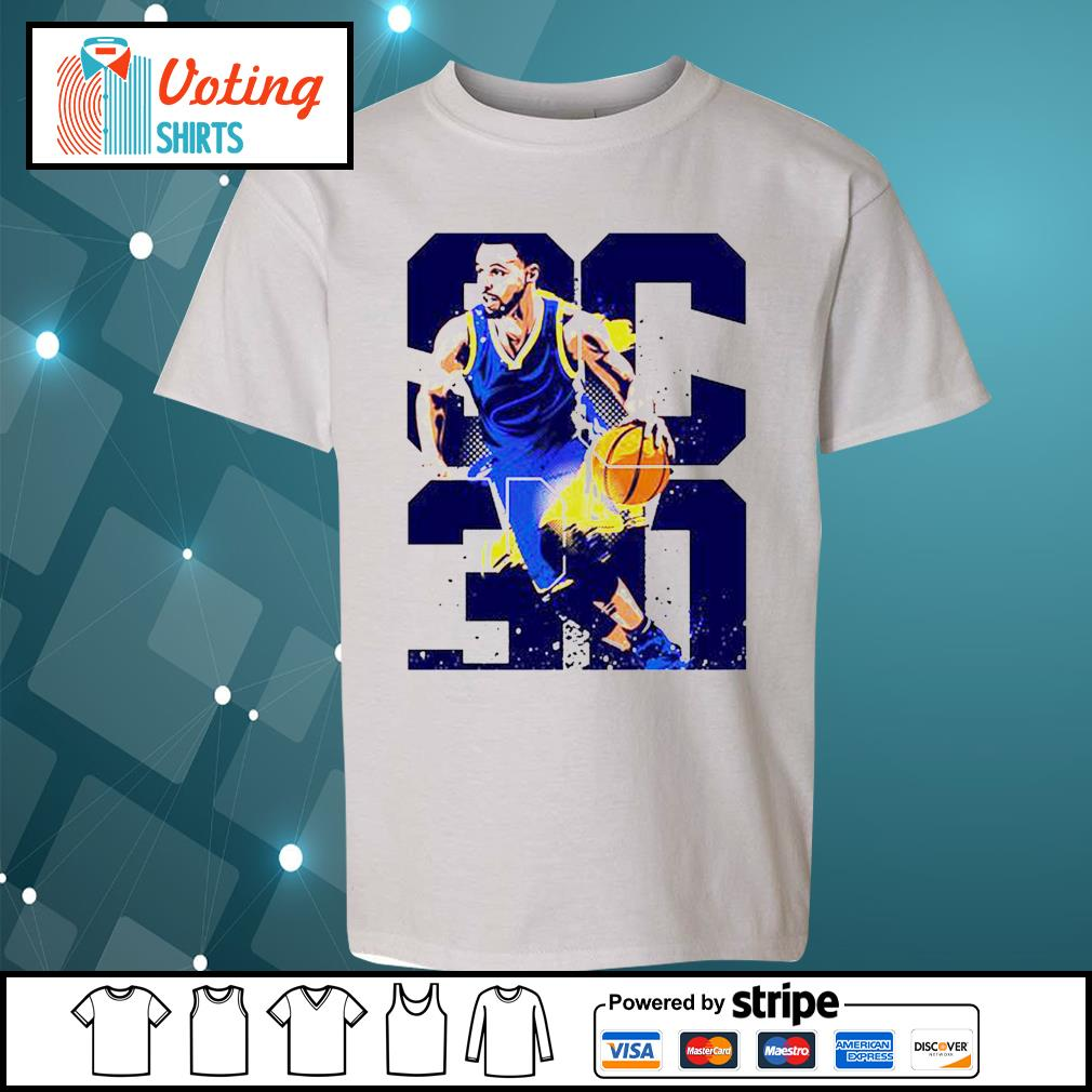 Golden State Warriors Stephen Curry 30 s youth-tee