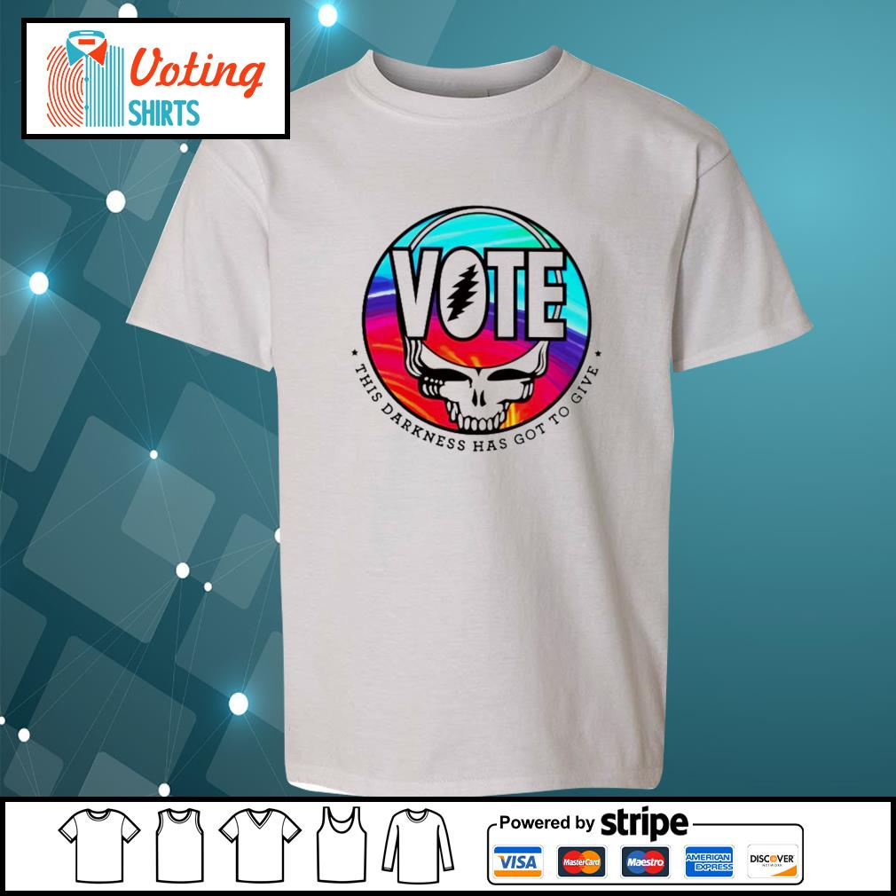 Grateful Dead Vote this darkness has got to give s youth-tee