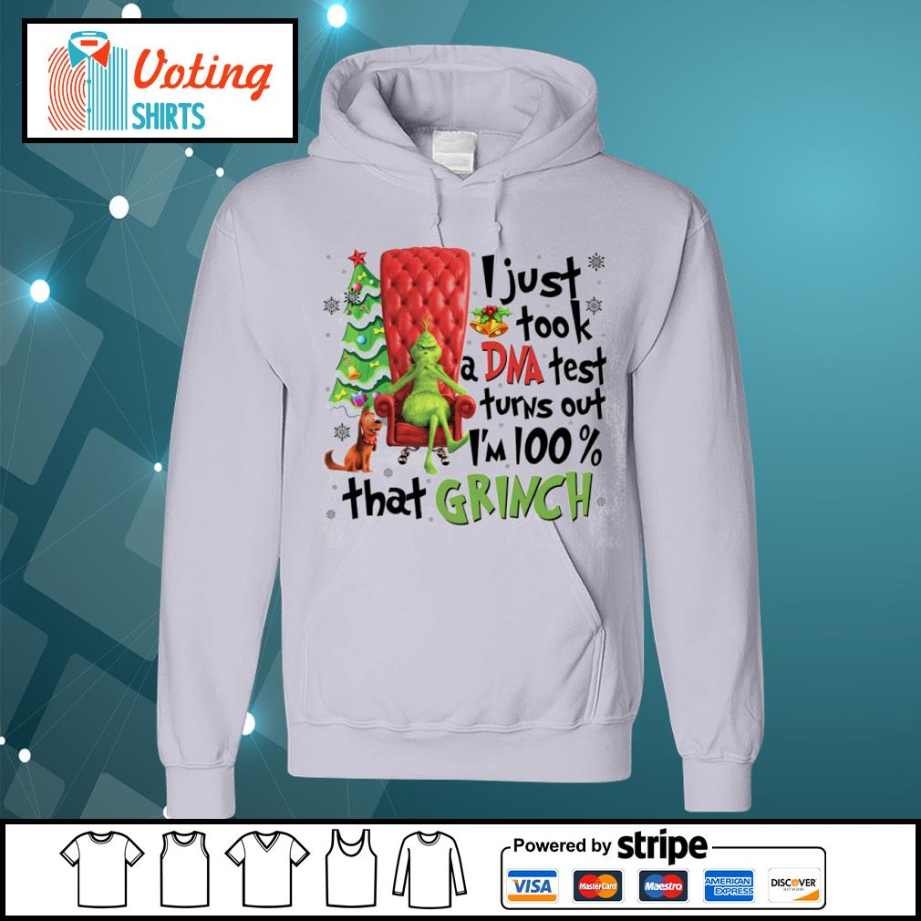 Grinch and Max I just took a DNA test turns out I'm 100 percent that Grinch s hoodie