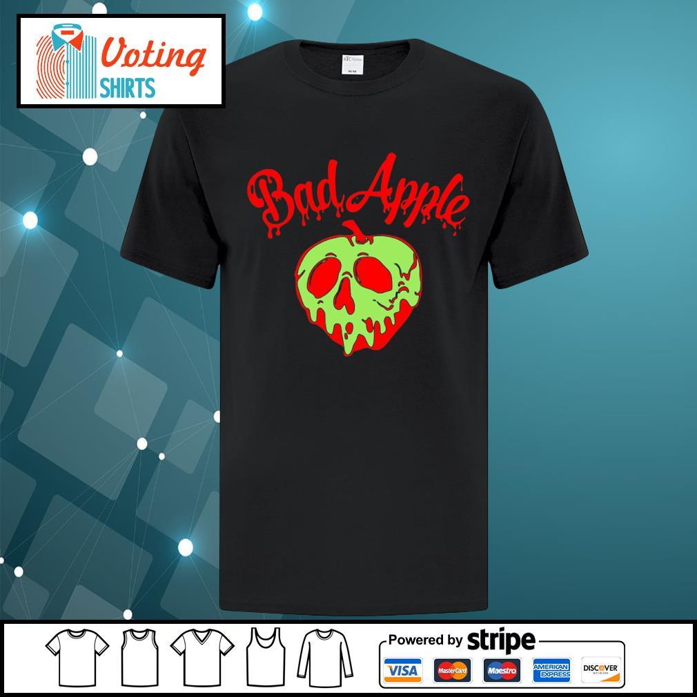 Halloween bad apple shirt