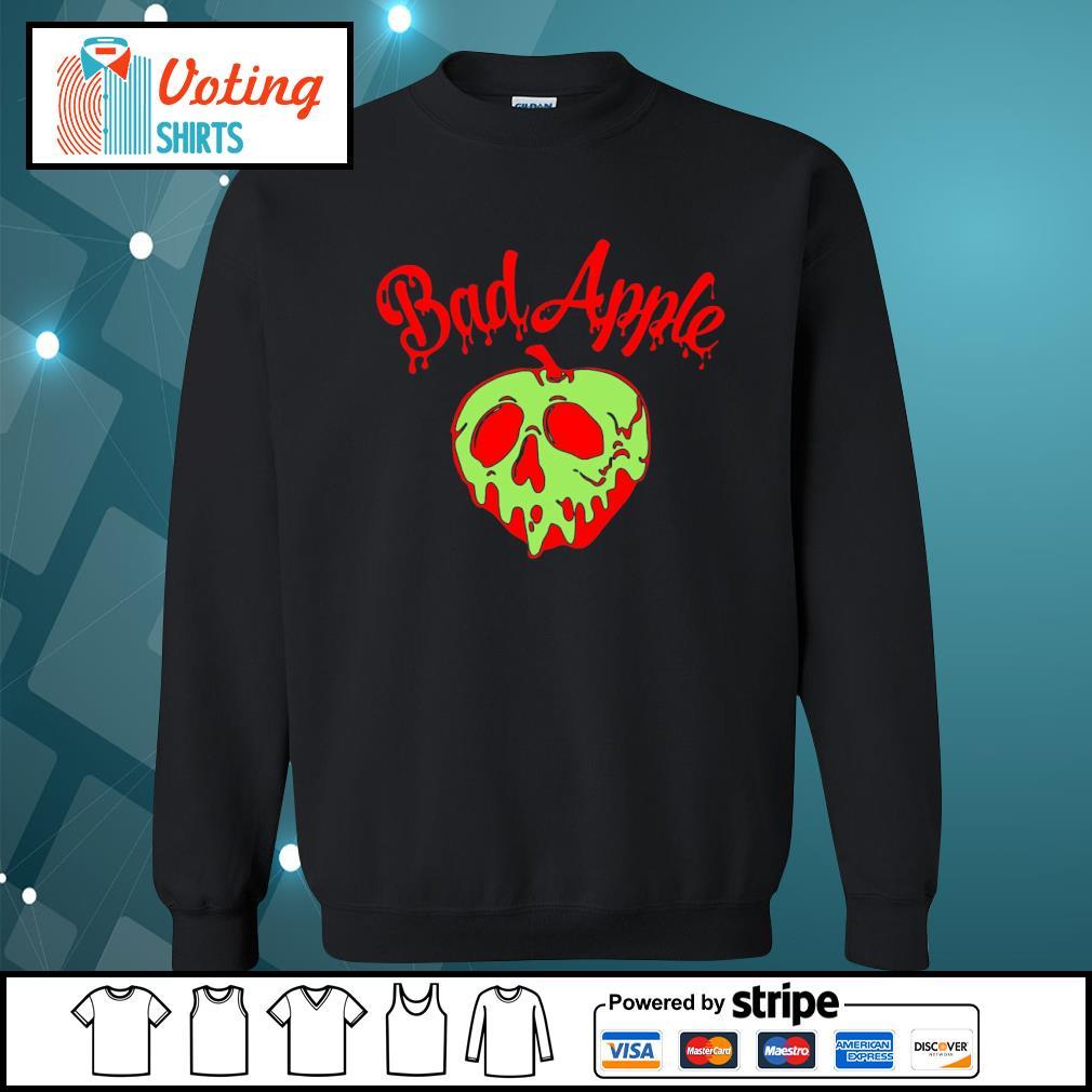 Halloween bad apple s sweater