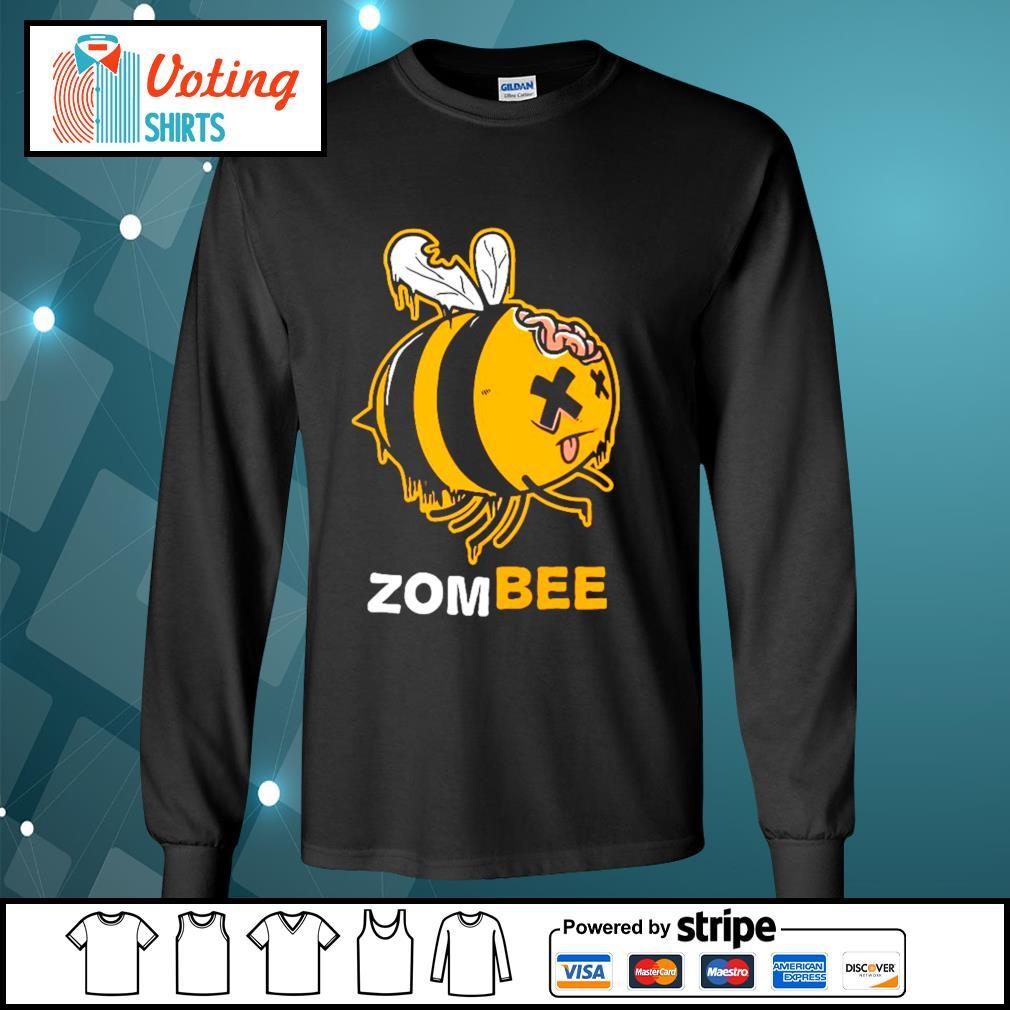 Halloween bee zombee s longsleeve-tee