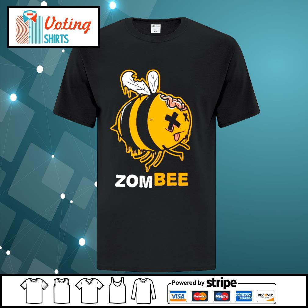 Halloween bee zombee shirt