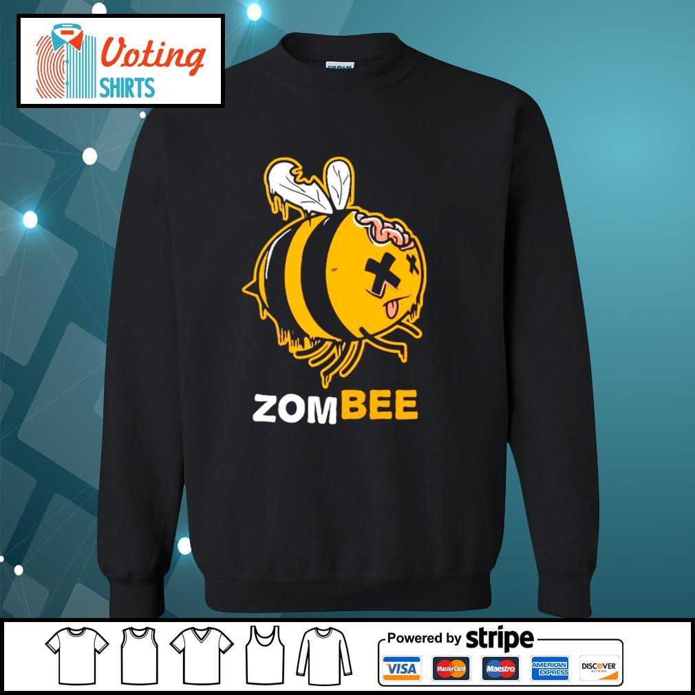 Halloween bee zombee s sweater