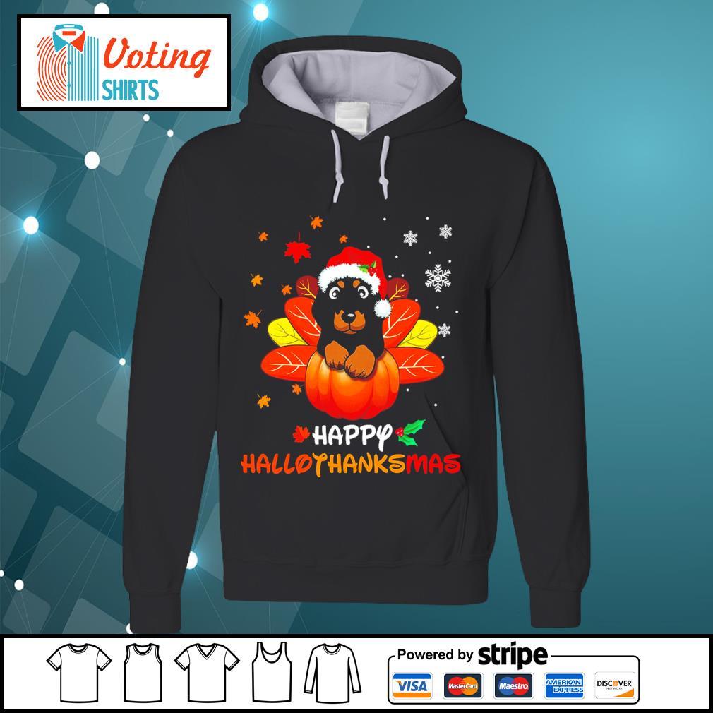 Halloween Dachshund Happy Hallothanksmas s hoodie