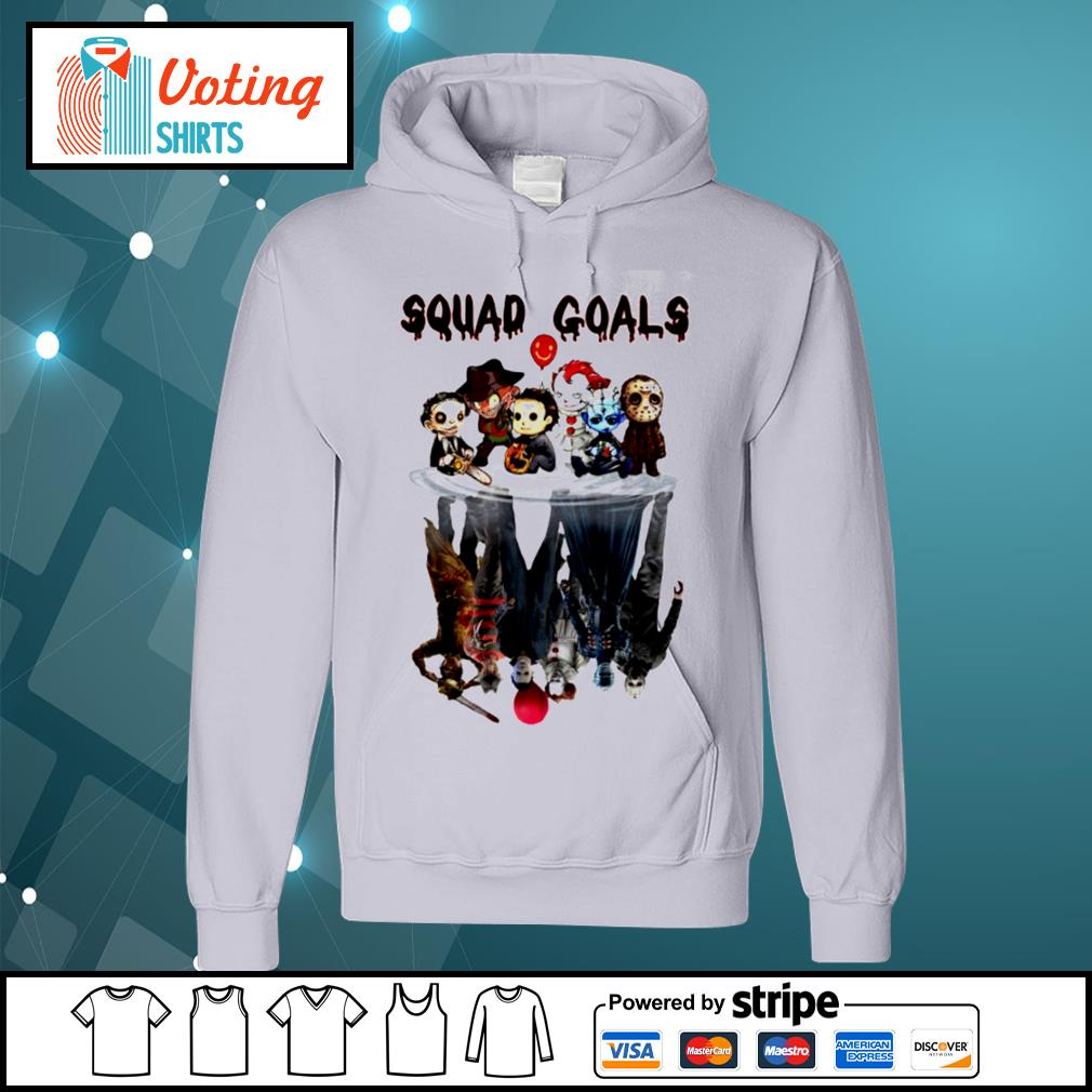 Halloween Horror IT characters chibi squad goals water reflection s hoodie