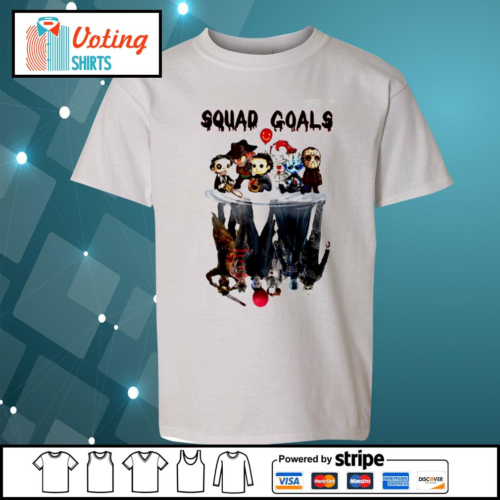 Halloween Horror IT characters chibi squad goals water reflection s youth-tee