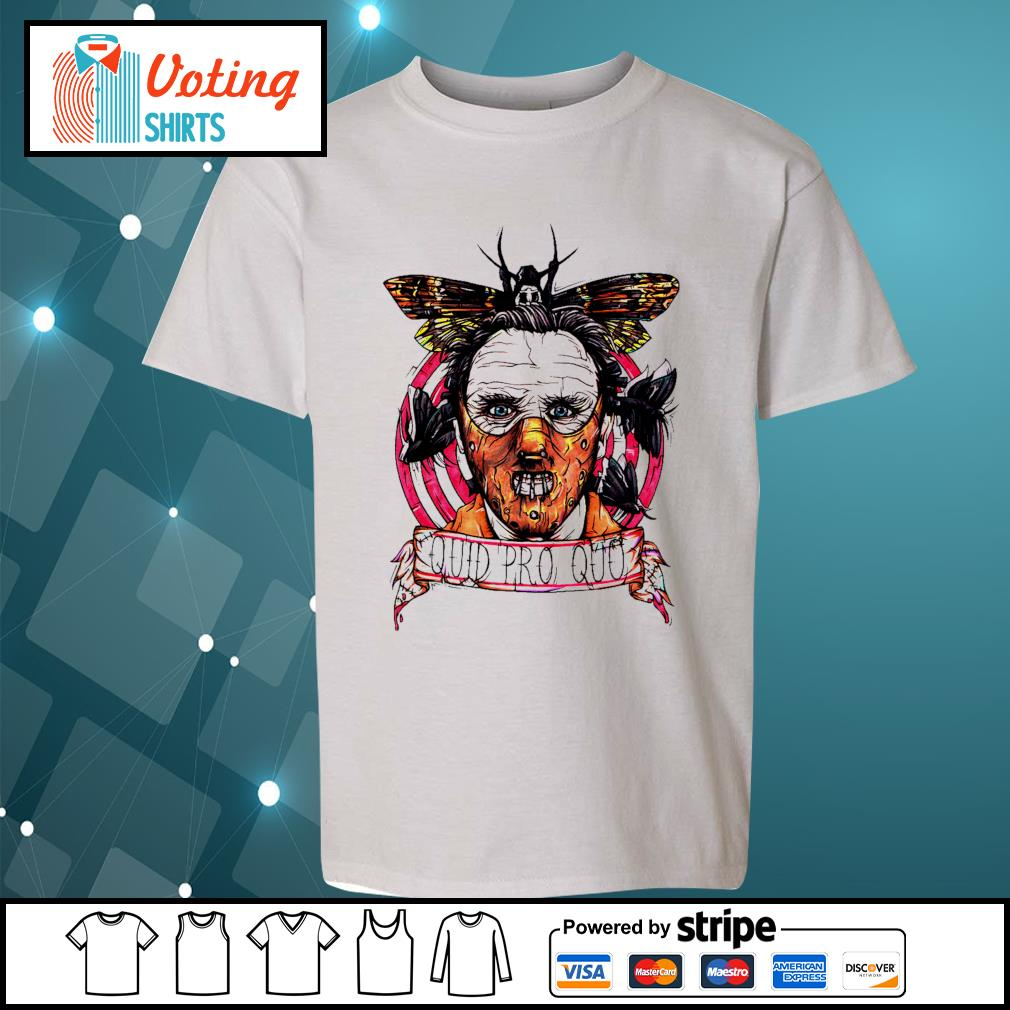 Halloween Horror silence lambs quid pro quo s youth-tee