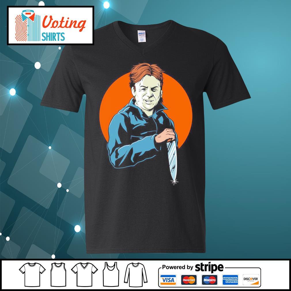 Halloween Michael Myers s v-neck-t-shirt