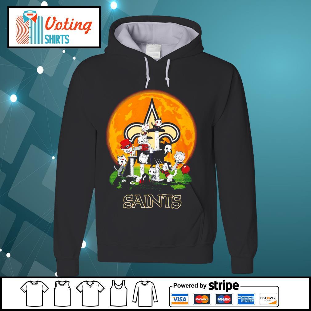 Halloween nights Horror characters chibi Saints s hoodie