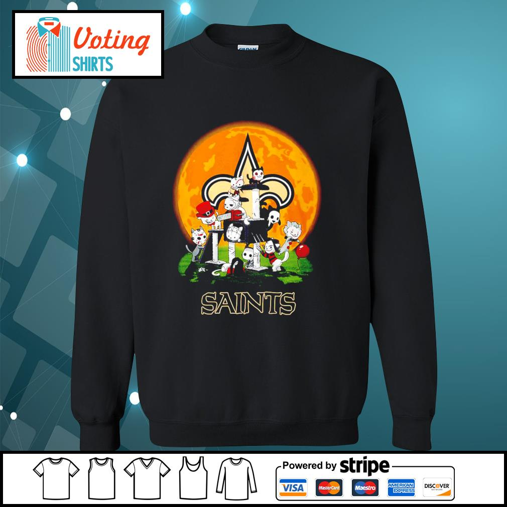 Halloween nights Horror characters chibi Saints s sweater
