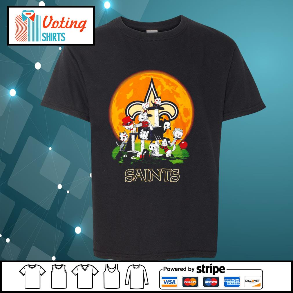 Halloween nights Horror characters chibi Saints s youth-tee