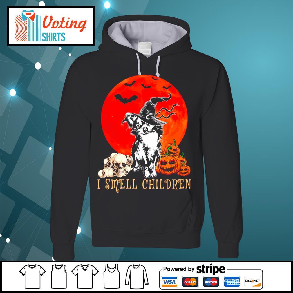 Halloween pumpkin Shih Tzu I smell children s hoodie