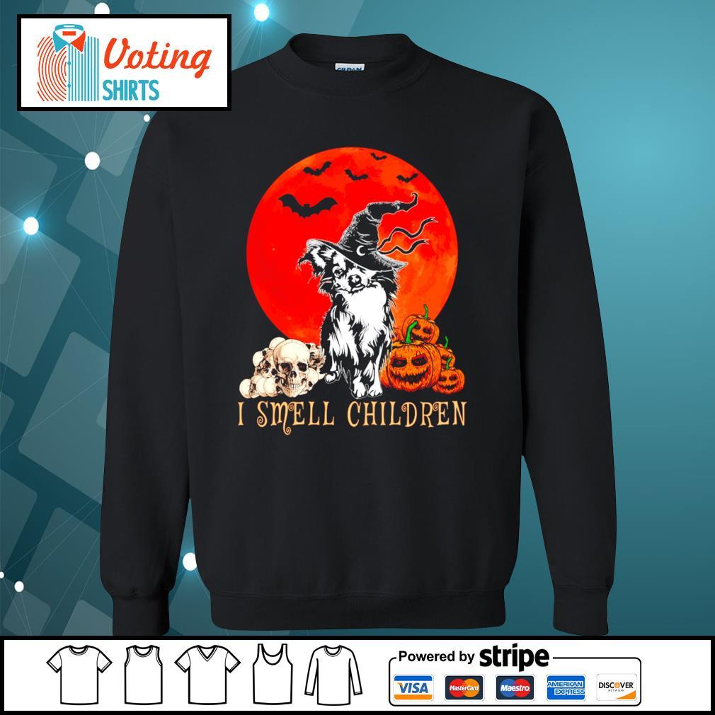 Halloween pumpkin Shih Tzu I smell children s sweater