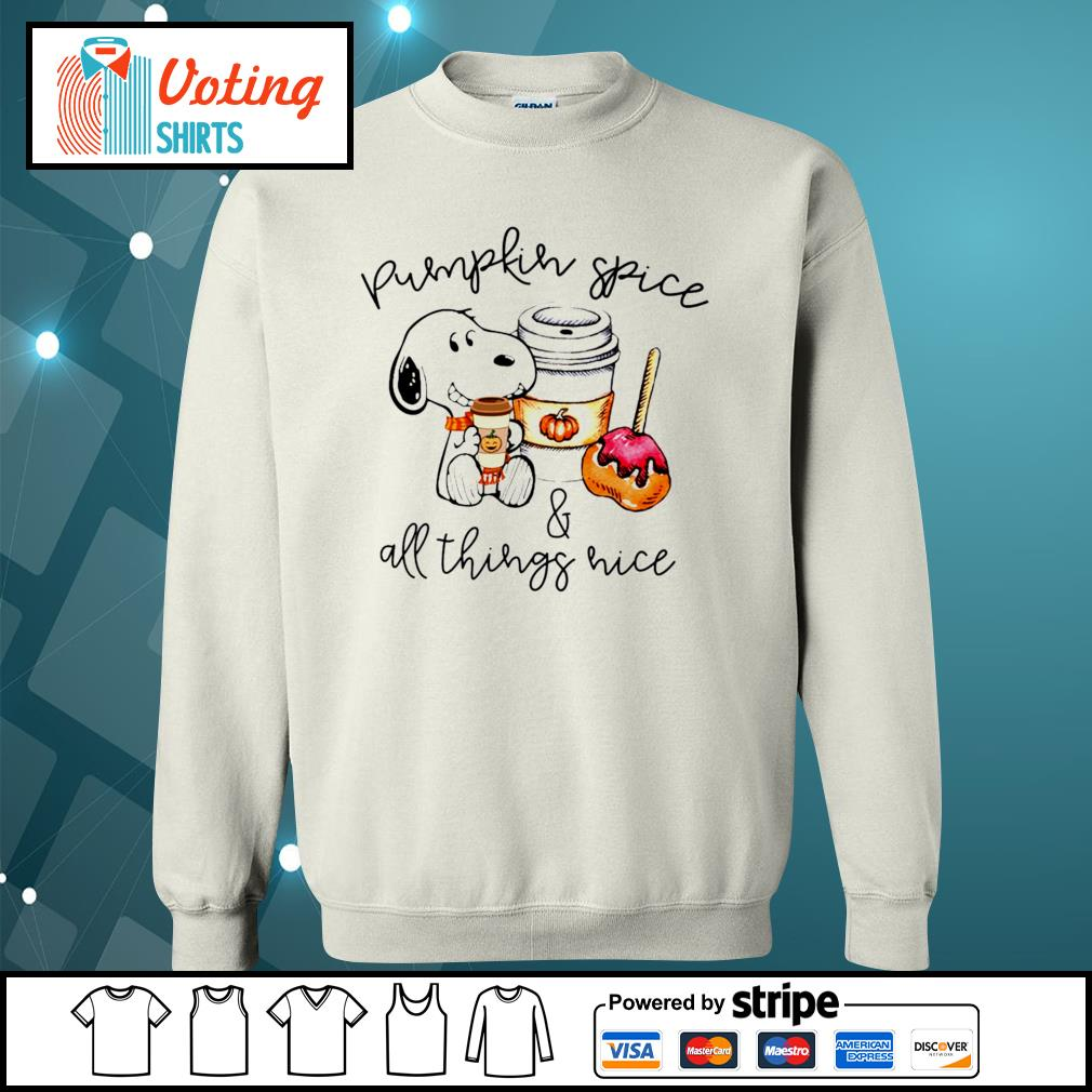 Halloween Snoopy pumpkin spice and all things nice s sweater