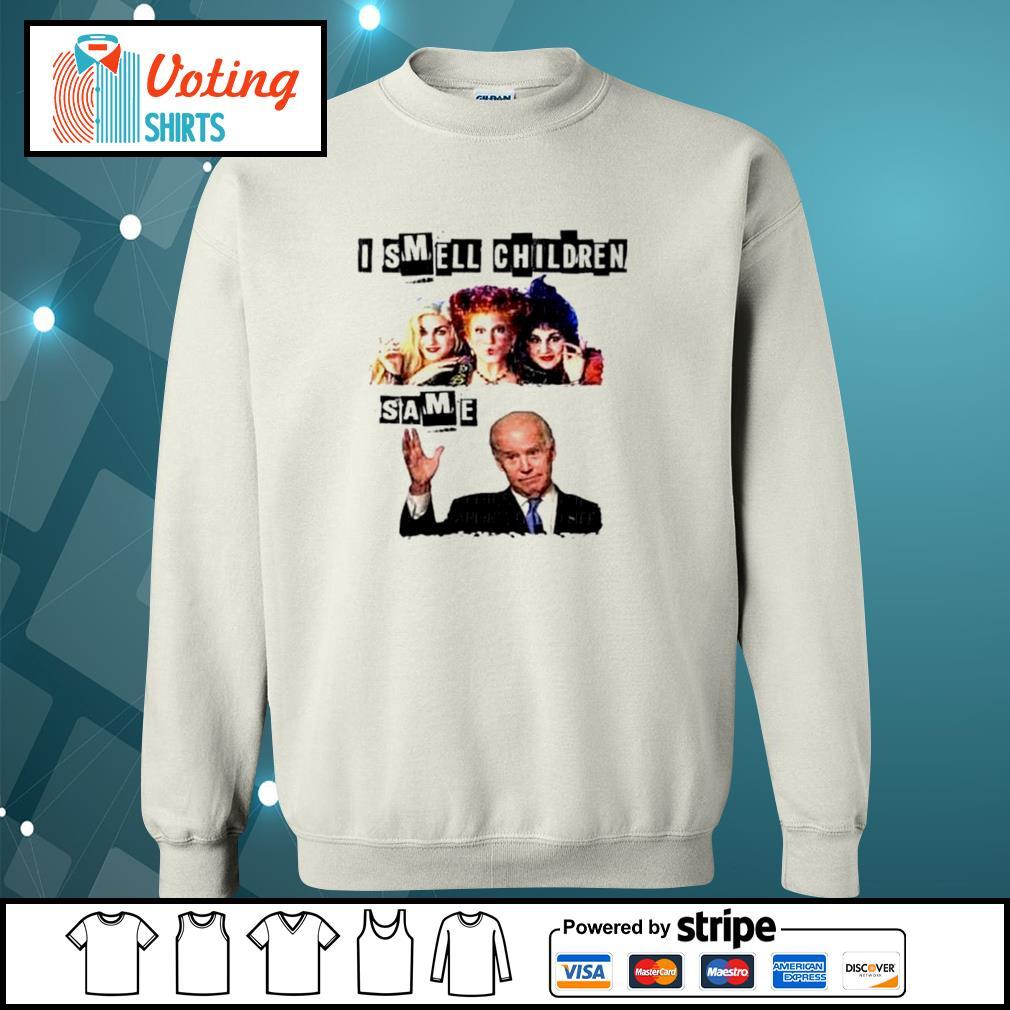 Hocus Pocus I smell children same Joe Biden s sweater