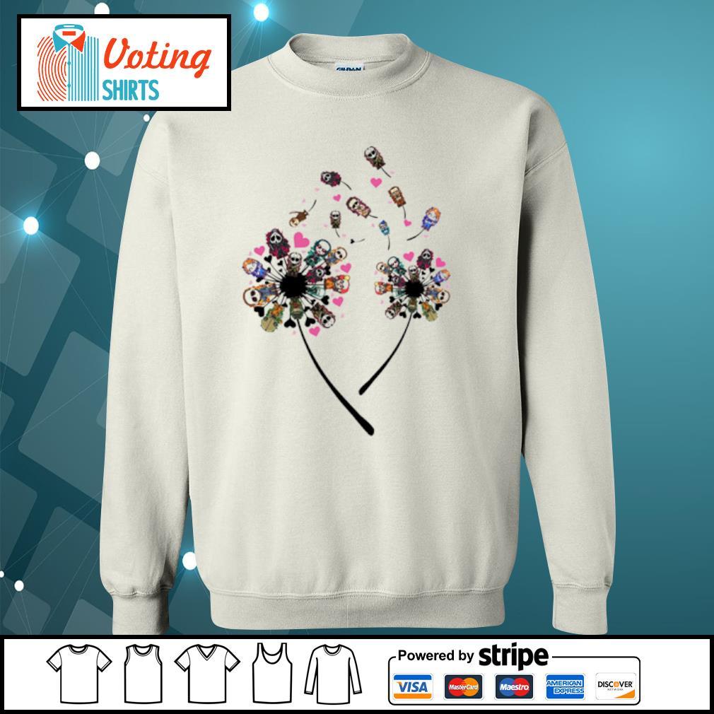 Horror Killers Dandelion Shirt sweater