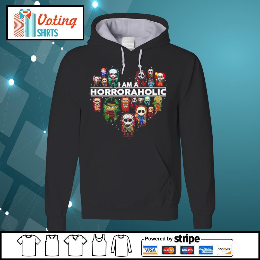 I am a Horroraholic Halloween s hoodie