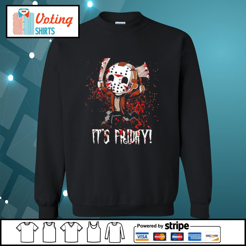 It's Friday Jason Voorhees Cute Chibi s sweater