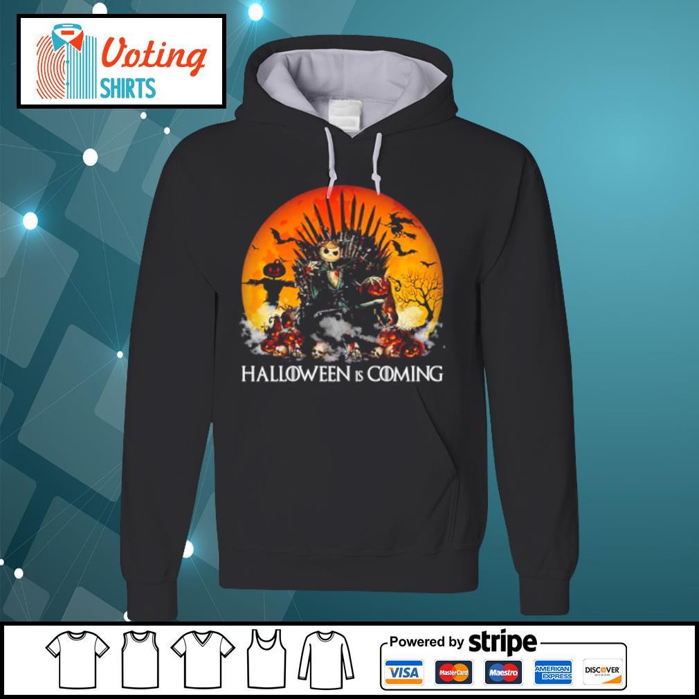 Jack Skellington Halloween is coming Game of Thrones s hoodie