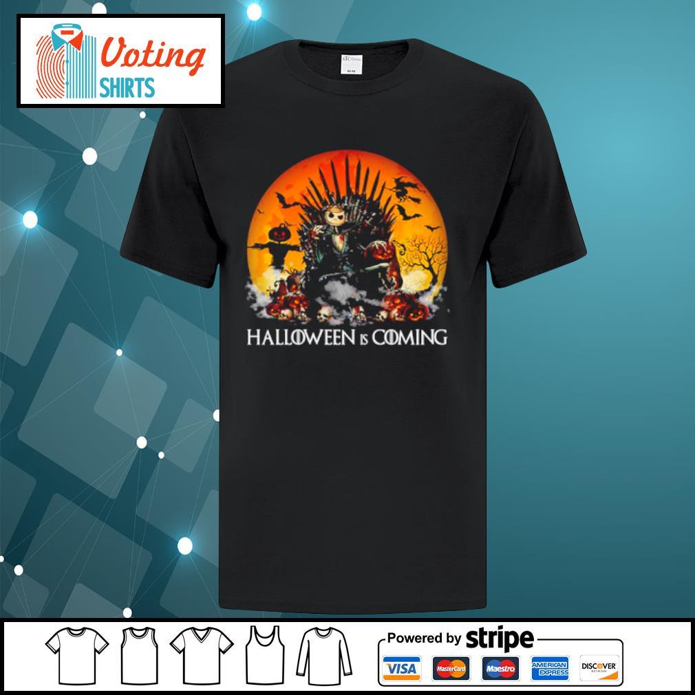 Jack Skellington Halloween is coming Game of Thrones shirt