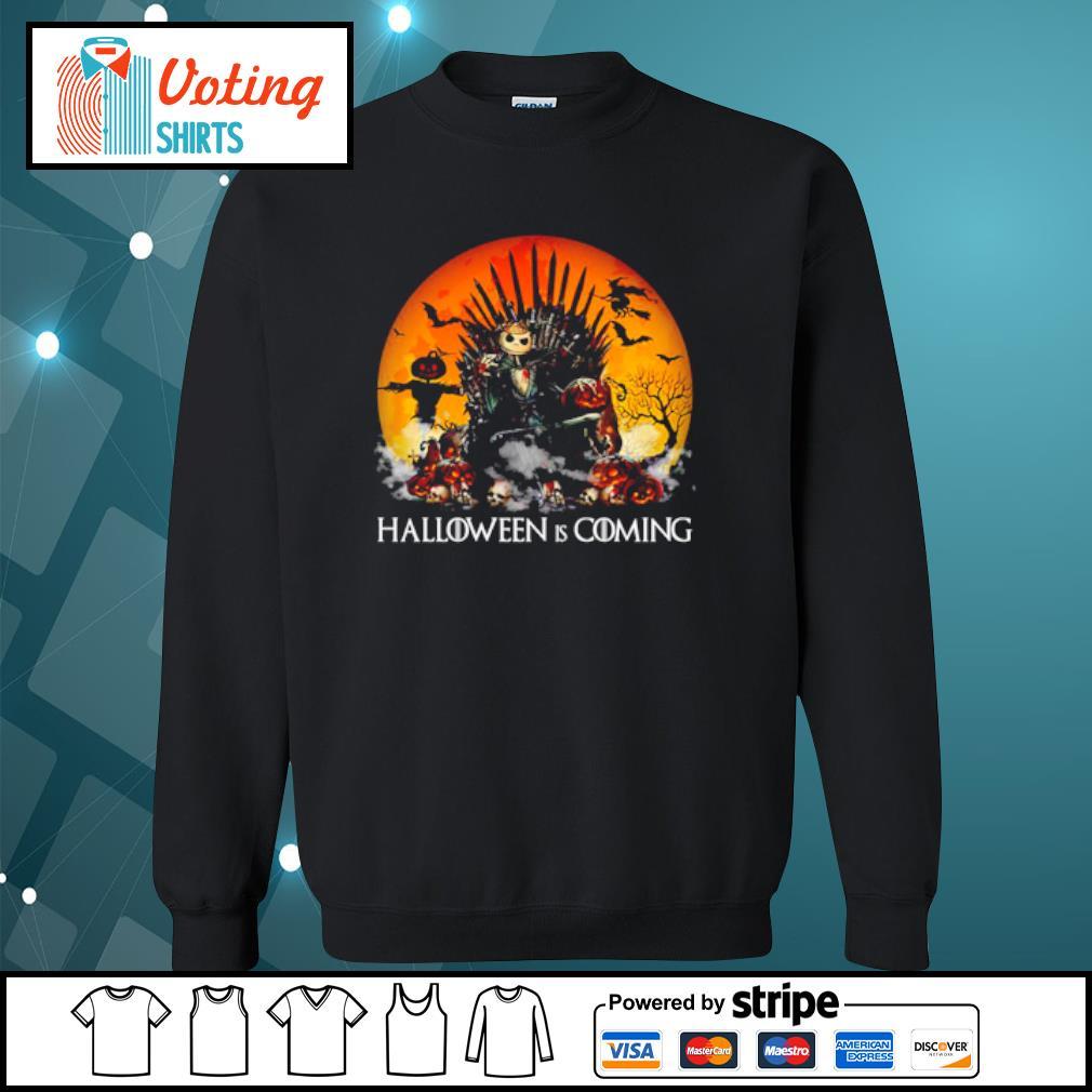 Jack Skellington Halloween is coming Game of Thrones s sweater