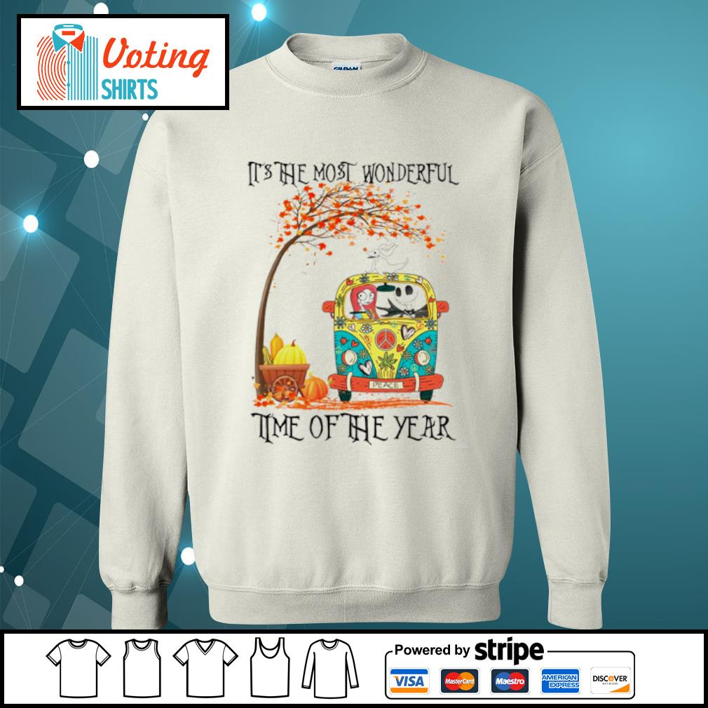 Jack Skellington Sally Zero it's the most wonderful time of the year s sweater