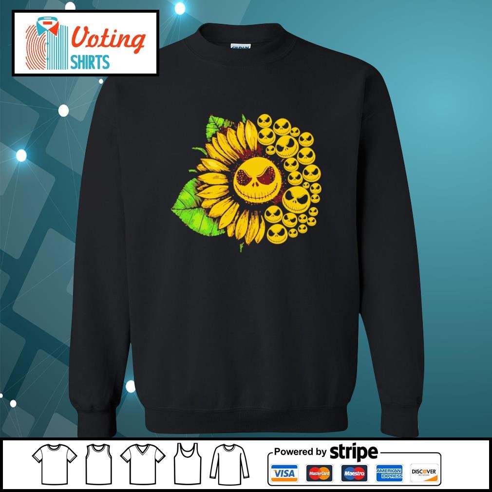 Jack Skellington sunflower s sweater