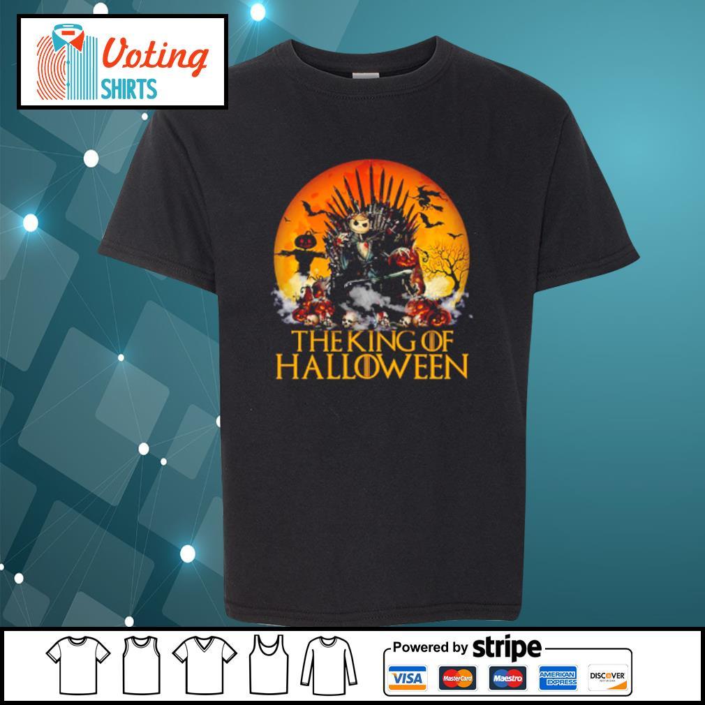Jack Skellington The King of Halloween s youth-tee