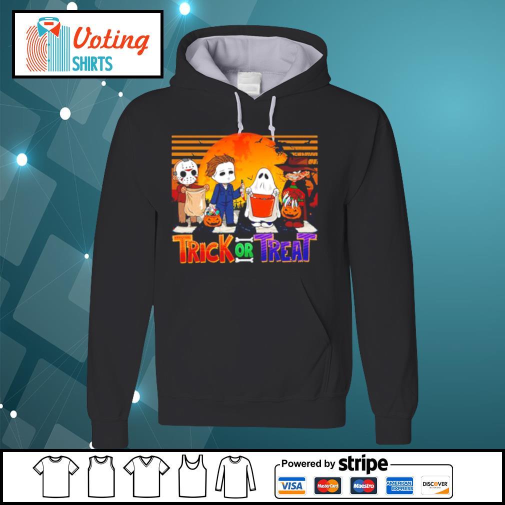 Jason Voorhees Michael Myers Freddy Krueger Trick or Treat Halloween s hoodie
