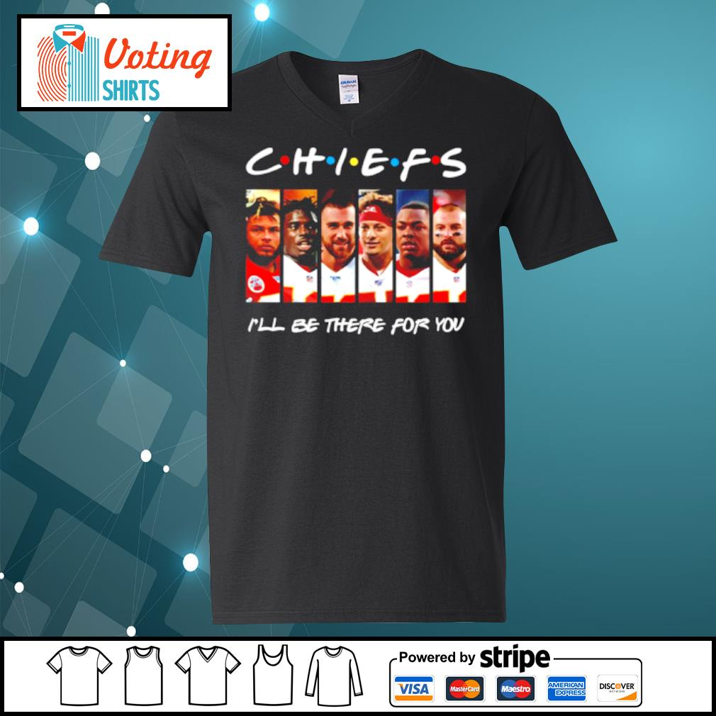 Kansas City Chiefs I'll be there for you s v-neck-t-shirt