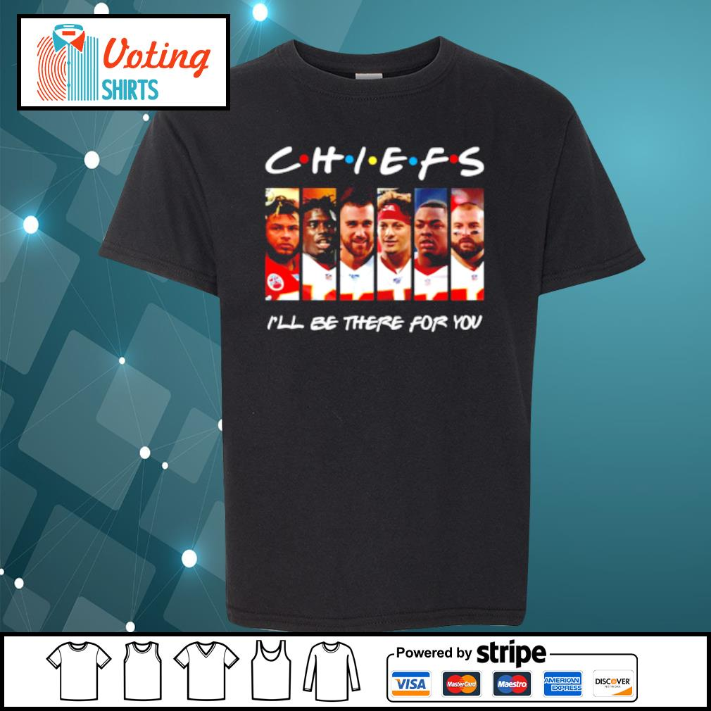 Kansas City Chiefs I'll be there for you s youth-tee