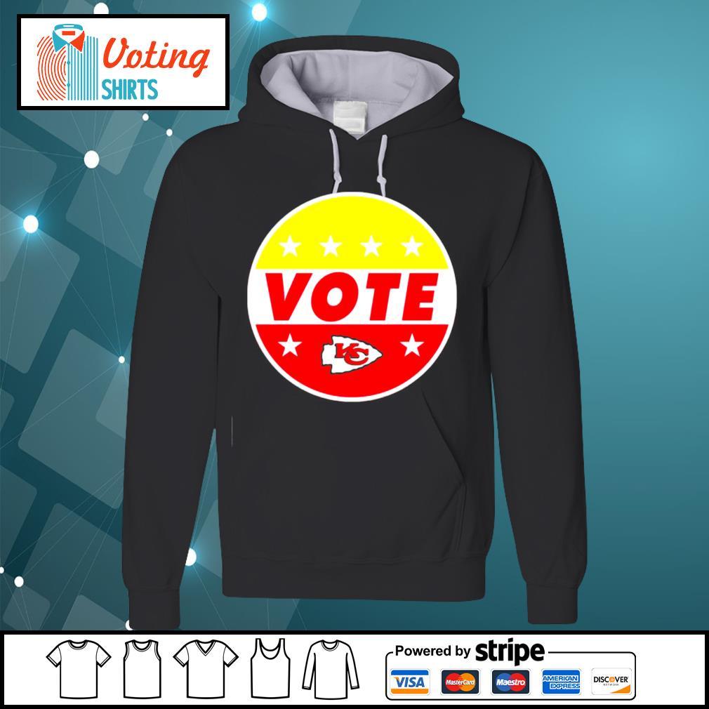 KC Chiefs vote s hoodie