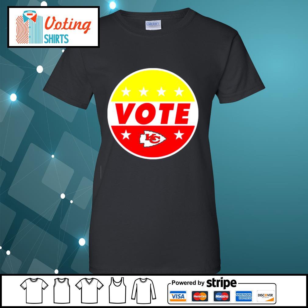 KC Chiefs vote s ladies-tee