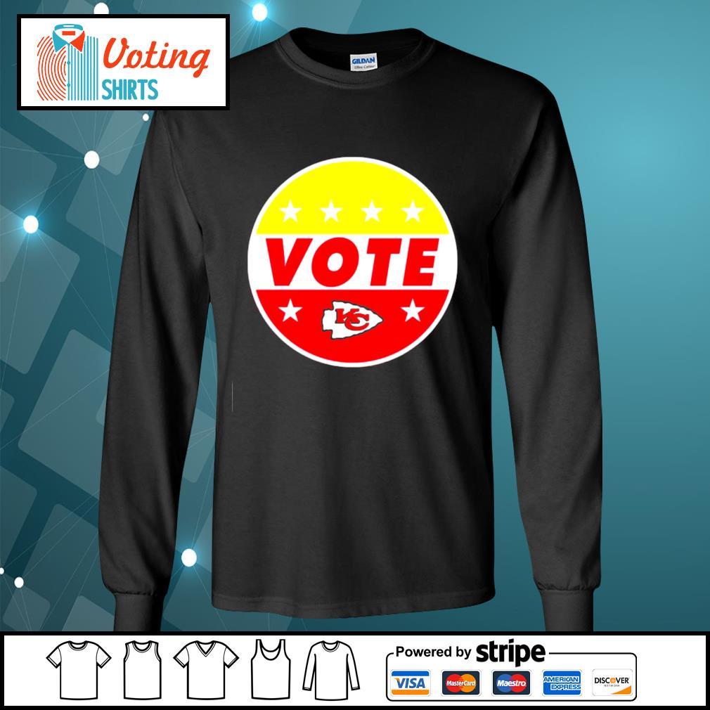 KC Chiefs vote s longsleeve-tee