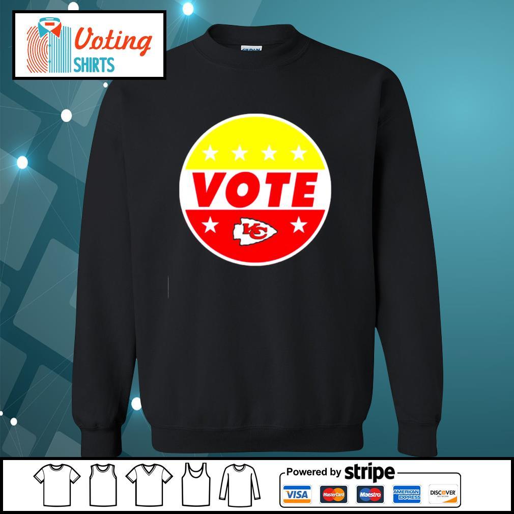 KC Chiefs vote s sweater