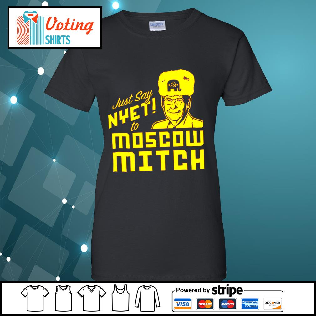 Kentucky Democratic just say nyet to Moscow Mitch s ladies-tee