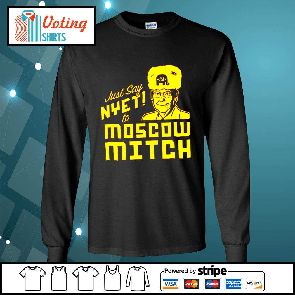 Kentucky Democratic just say nyet to Moscow Mitch s longsleeve-tee