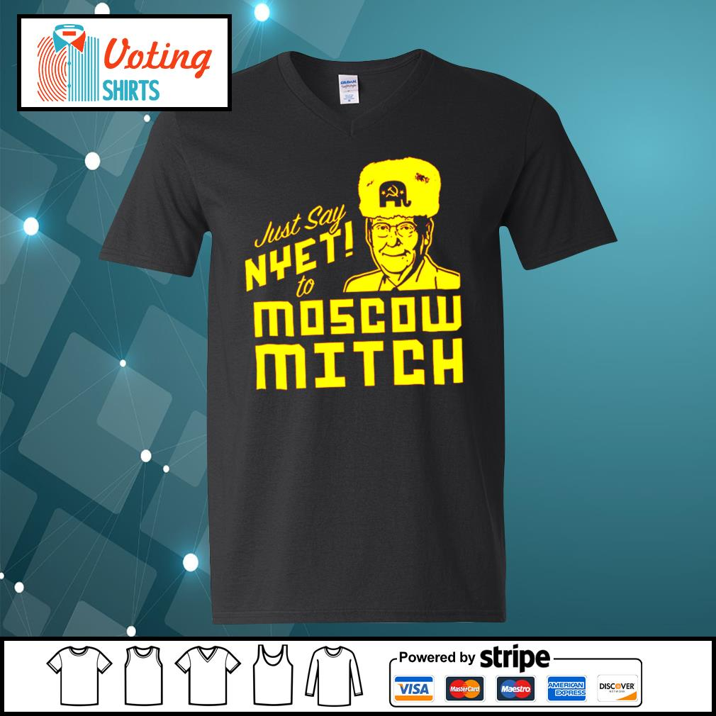 Kentucky Democratic just say nyet to Moscow Mitch s v-neck-t-shirt